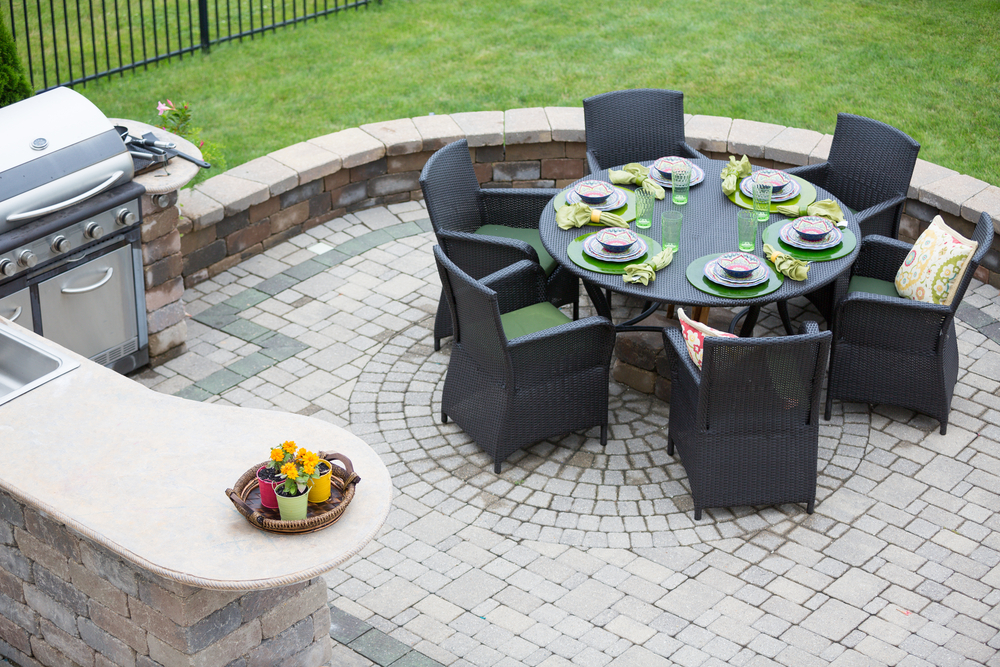 Outdoor Living and Paver Patio in Stillwater MN